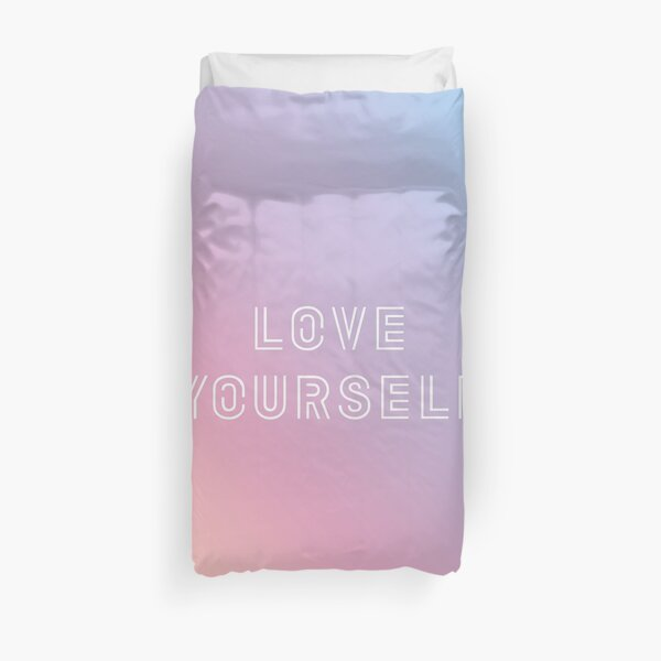 BTS LOVE YOURSELF PASTEL Duvet Cover