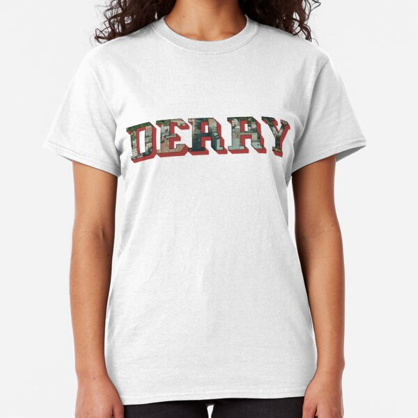 Losers club derry maine t-shirt it chapter two horror movie pennywise tee 308