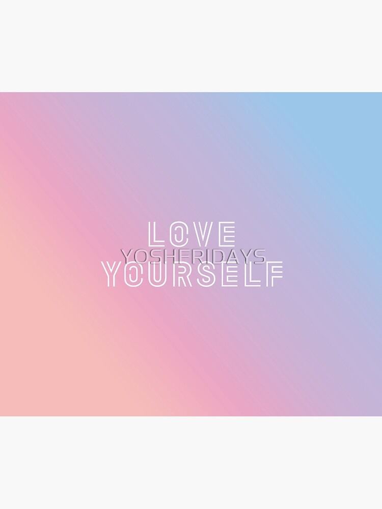 BTS LOVE YOURSELF PASTEL | Wall Tapestry