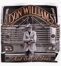 The Legend in Memoriam Don Williams Poster