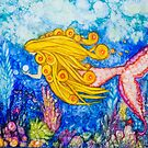 Under The Sea Wahine by Nancy
