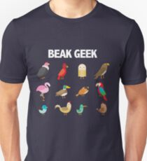 Funny Beak Geek - Twitcher Design T-Shirt