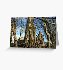 Dysert o Dea ruins Greeting Card