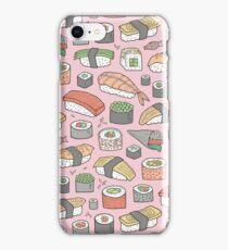 Sushi on Pink iPhone Case/Skin