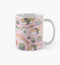 Sushi on Pink Mug