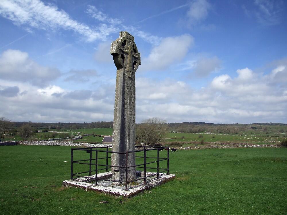Kilfenora Celtic cross by John Quinn