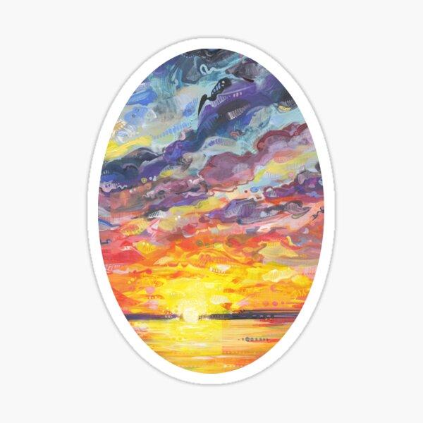Sunset Painting (Understanding) - 2017 Sticker