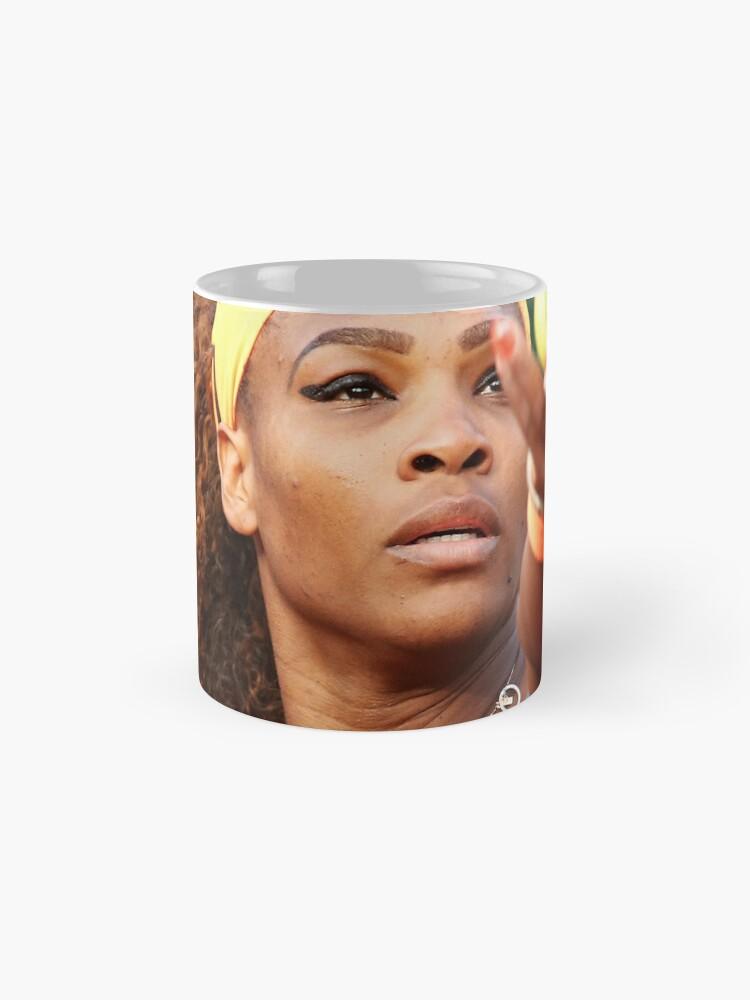 Vista alternativa de Taza clásica Serena Williams