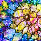 Stained Glass Flower by Nancy