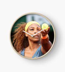 Serena Williams Clock