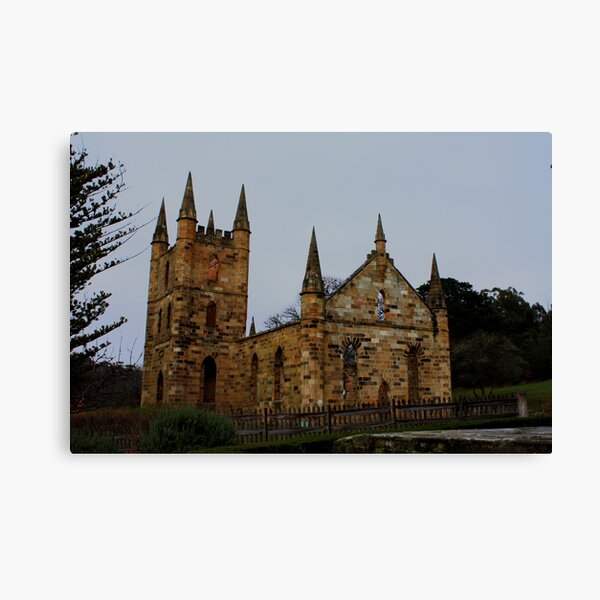 Port Arthur Church - Tasmania Canvas Print
