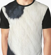 Cowhide Black and white Graphic T-Shirt