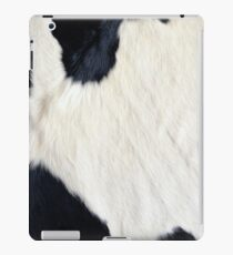 Cowhide Black and white iPad Case/Skin