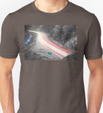 Boulder County Colorado Blazing Canyon View BWSC T-Shirt