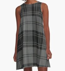 Grey Flannel  A-Line Dress