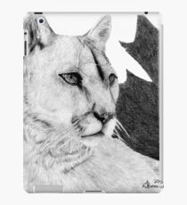 Canadian Cougar iPad Case/Skin