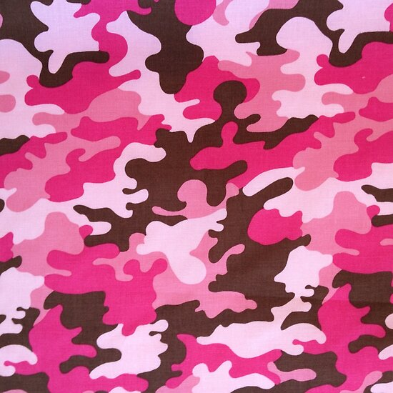Quot Pink Camo Quot Posters By Gypsykiss Redbubble