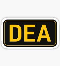 DEA Sticker