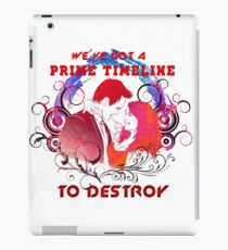 Community: Evil Jeff & Evil Annie The Darkest Timeline iPad Case/Skin