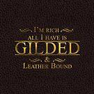 Trendy Gold Leaf Gilding Fashion by patjila