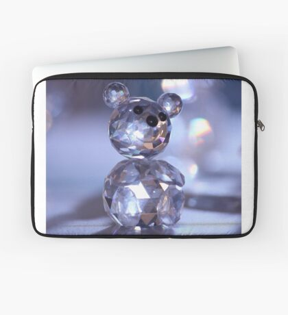 Crystal Bear Laptop Sleeve