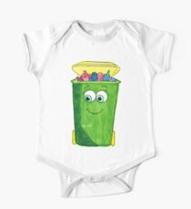 Happy Recycling One Piece - Short Sleeve