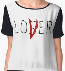 LOSER LOVER Women's Chiffon Top