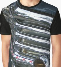 Vintage Car Chrome Glamour Graphic T-Shirt