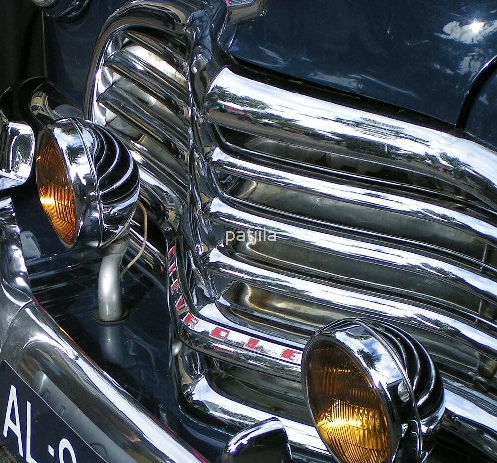 Vintage Car Chrome Glamour by patjila