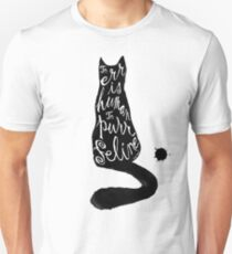 To err is human, to purr feline T-Shirt