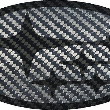 Fibra de carbono Subaru de Robjohnsilvers