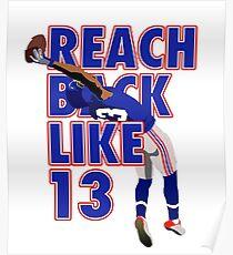 Reach Back Like 13 Poster