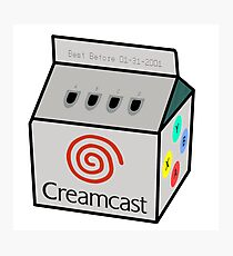 Sega Creamcast Photographic Print