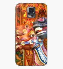 Victorian Carousel York UK Bursting colours Case/Skin for Samsung Galaxy