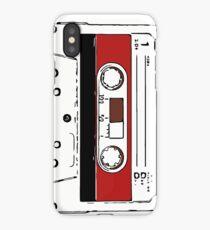80s audio tape sketch  iPhone Case/Skin