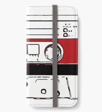 80s audio tape sketch  iPhone Wallet/Case/Skin