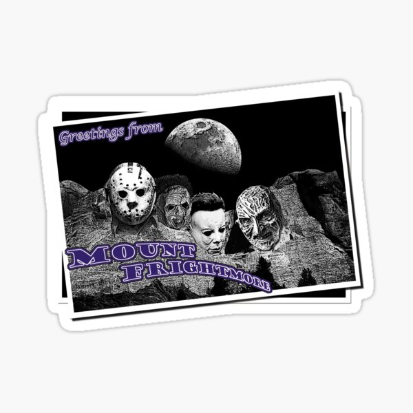 Greetings from Mount Frightmore Sticker