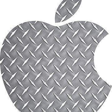Placa de diamante de manzana de Robjohnsilvers