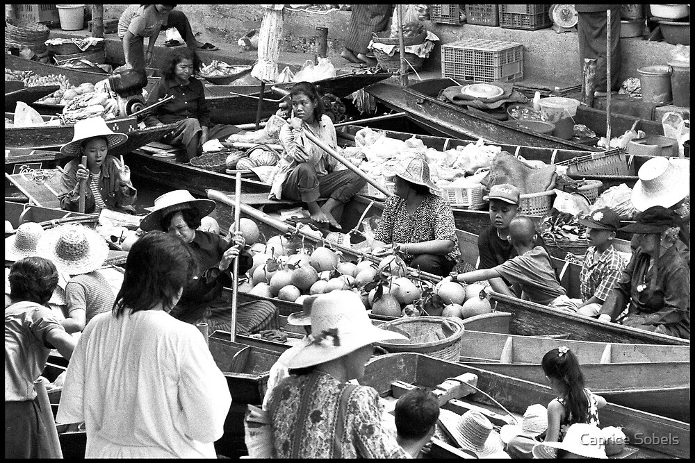 Floating Markets by Caprice Sobels