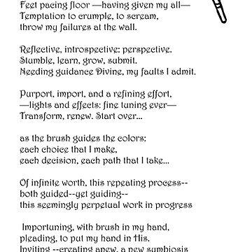 paintbrush poem by DlmtleArt