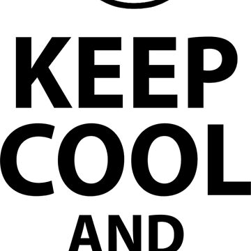 Keep Cool and Rock On Heavy Metal  by Jandsgraphics