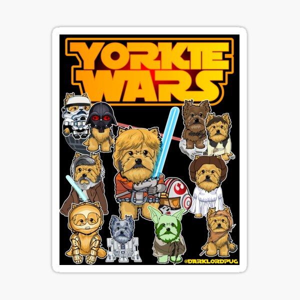 Yorkie Warrs Sticker