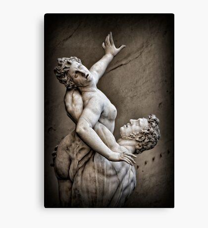 Rape of the Sabine Women Canvas Print