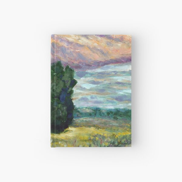 Road to Vzgliadnevo Hardcover Journal
