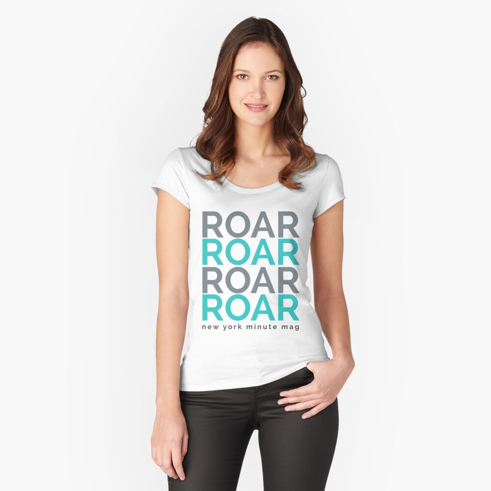 Roar Women's Fitted Scoop T-Shirt Front