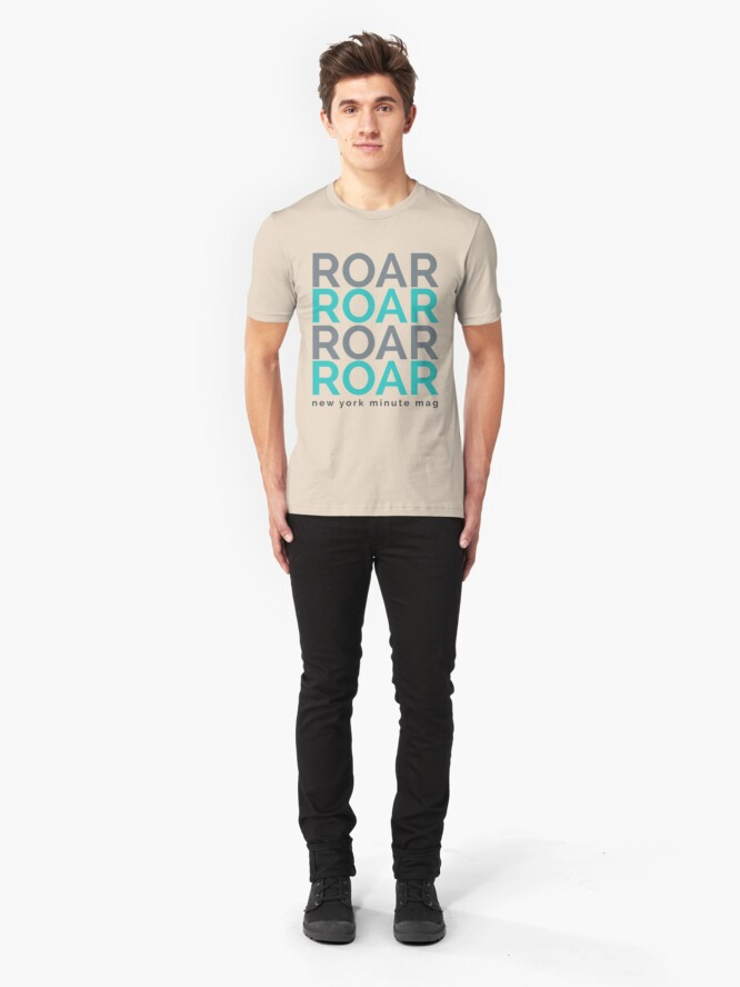 Alternate view of Roar Slim Fit T-Shirt