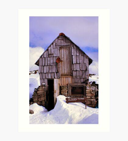 Kitchen Hut - Cradle Mountain - Tasmania Art Print