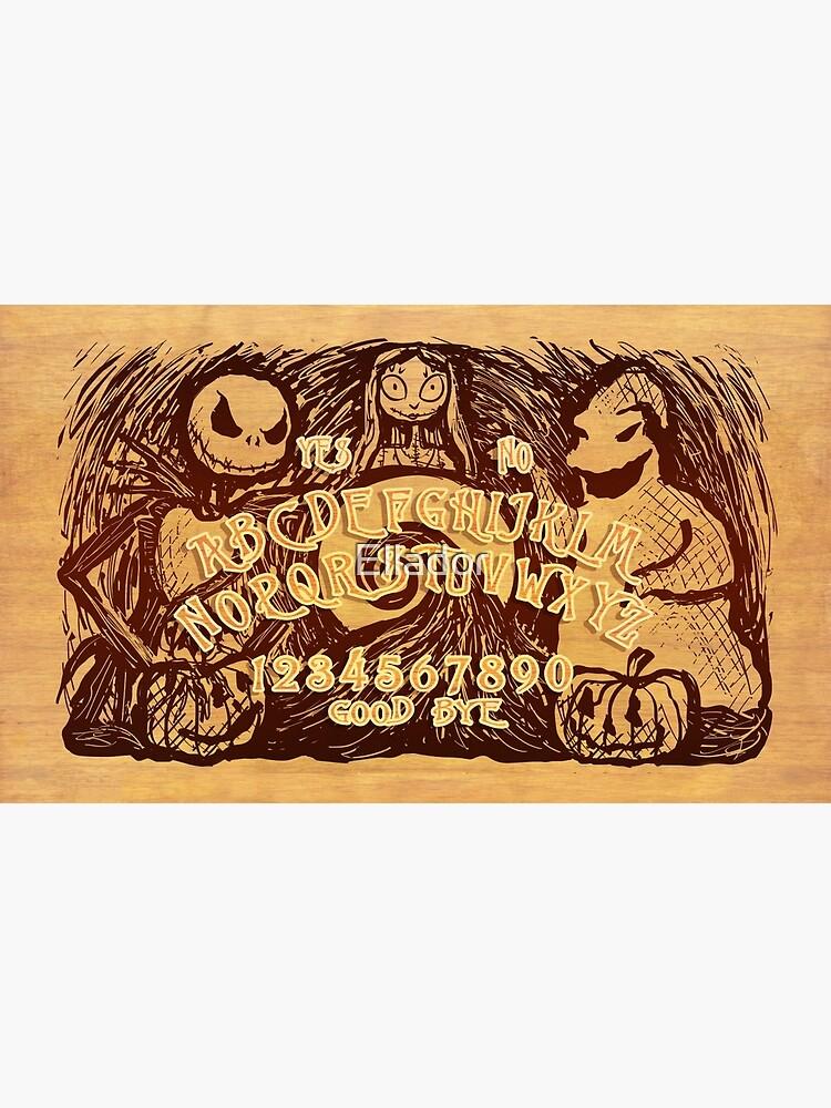 Nightmare Ouija Board by Ellador