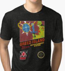 Greed Island Tri-blend T-Shirt