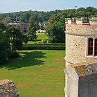 Tower View, Lulworth Castle by RedHillDigital